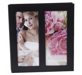 Álbum de Casamento 20x25 para 100 fotos PRETO - 810100