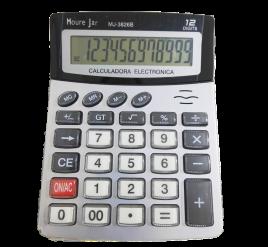 Calculadora de Mesa - Grande - 12 dígitos - 3826B