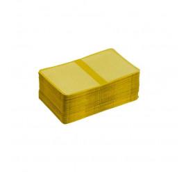 Carteirinha 3x4 com 100 Amarelo