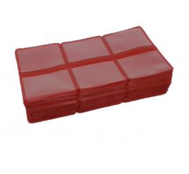 Carteirinha  para Foto 3x4 com 300 Vermelho