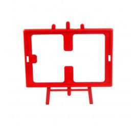 Cavalete de Foto 10x15 Vermelho