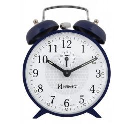 Despertador Herweg Mecânico Azul - 2206