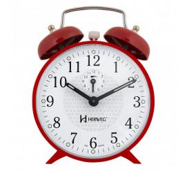 Despertador Herweg Mecânico Vermelho - 2206