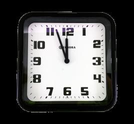 Relógio de Parede Eurora Preto - 6540