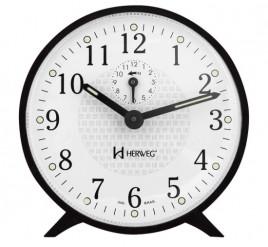 Despertador Mecânico - Herweg - Preto - 2220