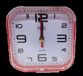 Despertador Quadrado - WX - Vermelho - JX-801