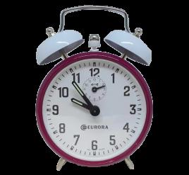 Despertador Mecânico- Eurora - Roxo - 2258