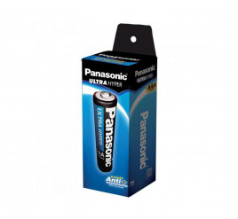 Tubo Pilha Panasonic AAA Comum - 40 Pilhas