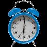 Despertador WX - Tipo Mecânico - Usa 1 Pilha AA - Azul - 6025
