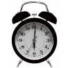 Despertador WX - Tipo Mecânico - Usa 1 Pilha AA - Preto - 6025